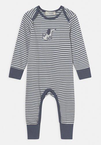 WAYAN BABY ROMPER - Pyjamas - blue/grey