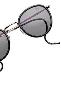 Sunheroes - Sunglasses - light gold with black - 2