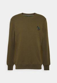 PS Paul Smith - ZEBRA CREW NECK - Sweatshirt - khaki - 4
