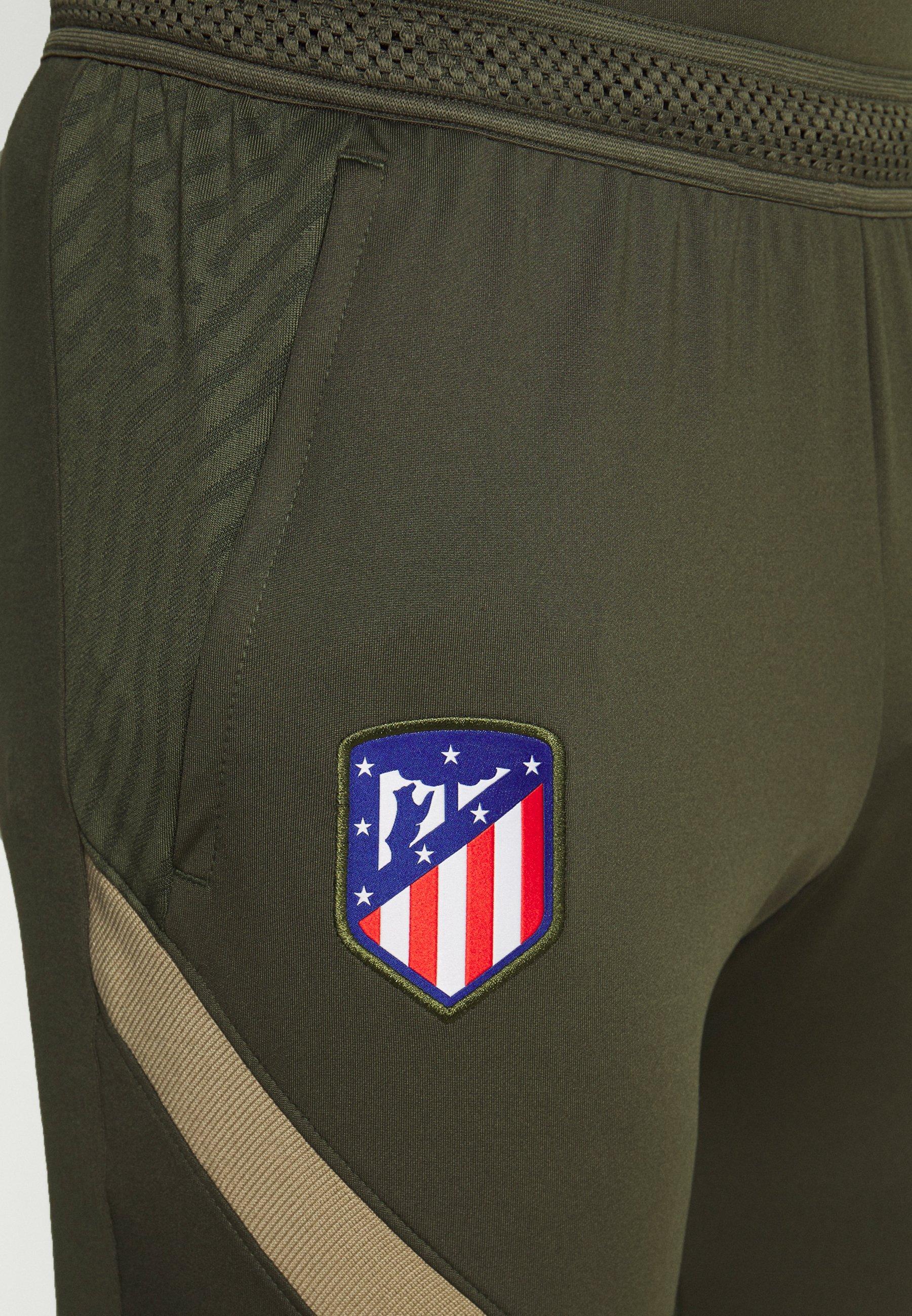 Nike Performance ATLETICO MADRID DRY PANT - Article de supporter - cargo khaki/khaki