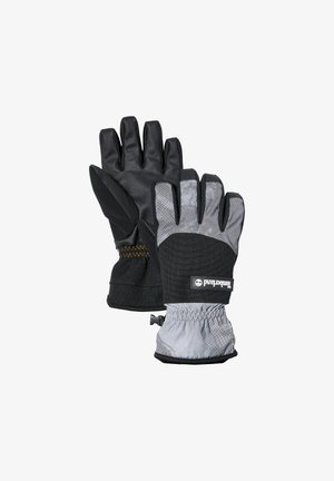 YC REFLECTIVE W PRINT FLEECE LINED  - Gloves - black