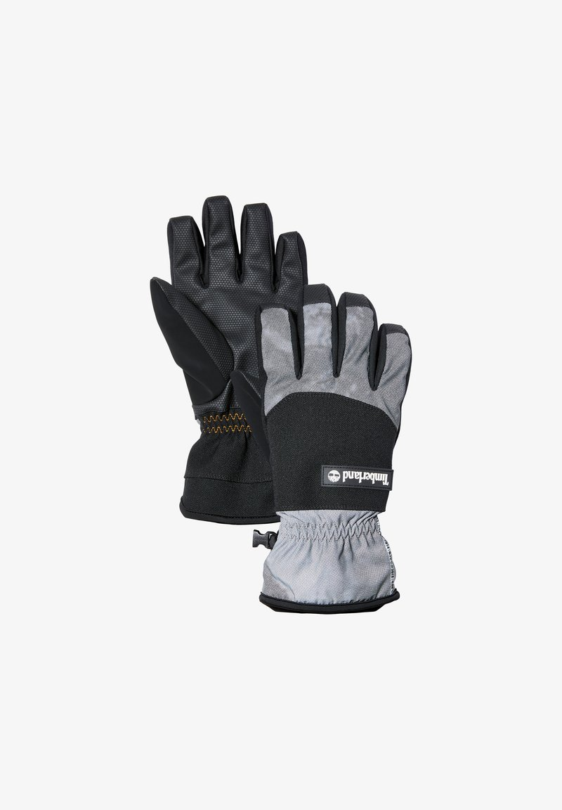 Timberland - YC REFLECTIVE W PRINT FLEECE LINED  - Gloves - black