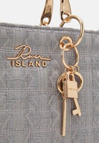River Island - Shopping bag - grey - 4