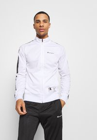 Champion - LEGACY TAPE TRACKSUIT SET - Chándal - white/black - 0