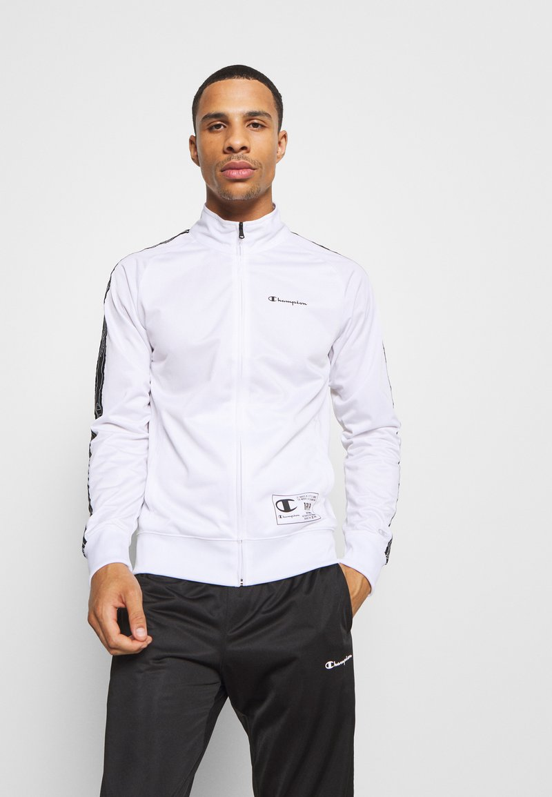 Champion - LEGACY TAPE TRACKSUIT SET - Chándal - white/black