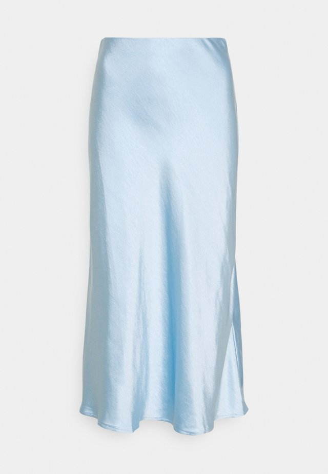 YASPASTELLA MIDI SKIRT - A-lijn rok - whispy blue