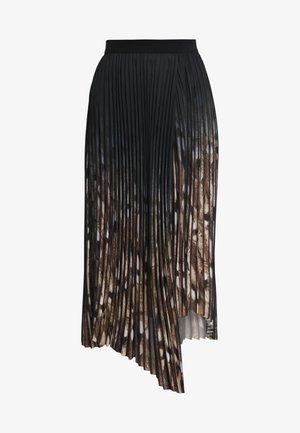 PIZA - Spódnica plisowana - black