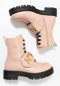 N°21 - Lace-up ankle boots - pink - 0