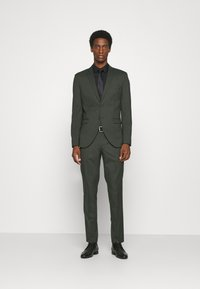 Selected Homme - SLHSLIM MYLOLOGAN SUIT - Traje - rifle green - 0