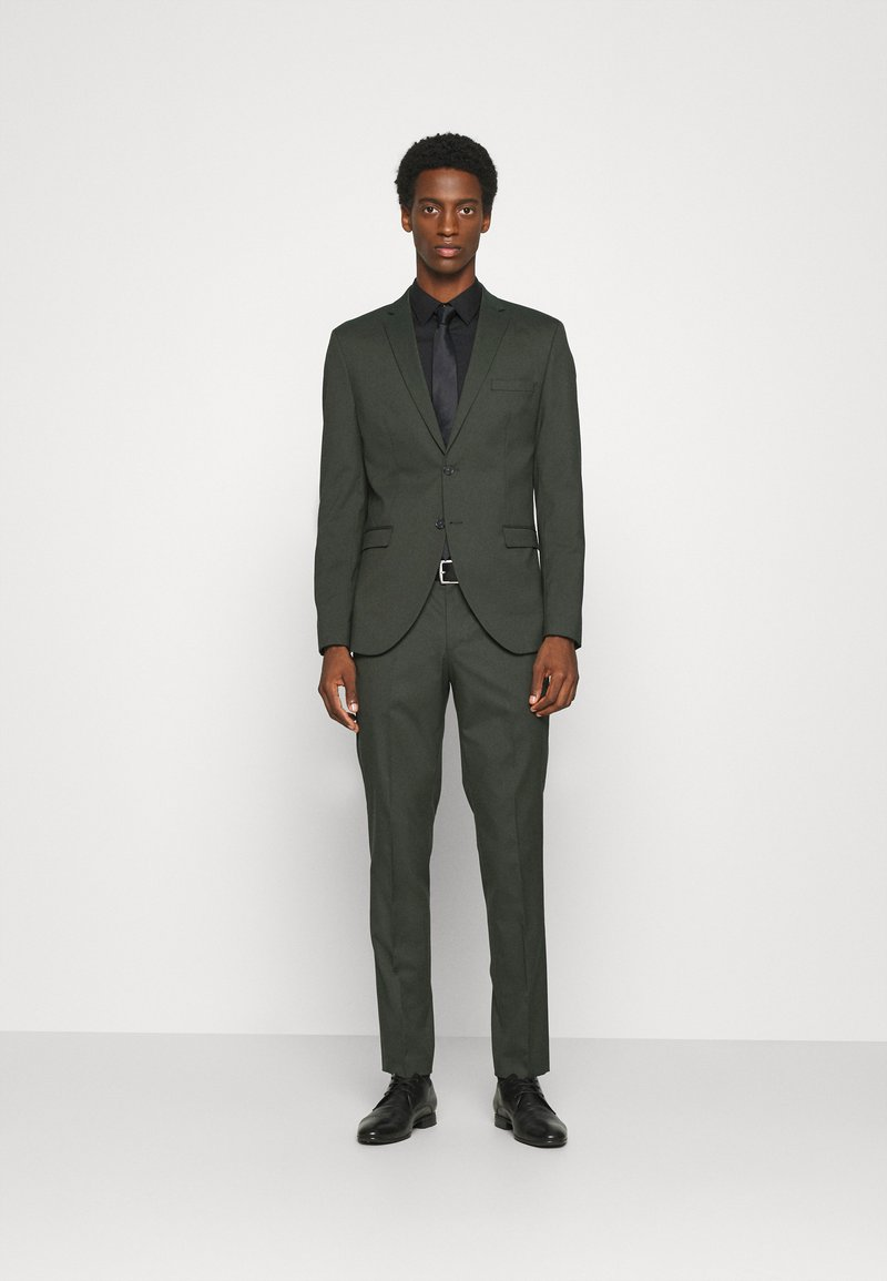 Selected Homme - SLHSLIM MYLOLOGAN SUIT - Traje - rifle green