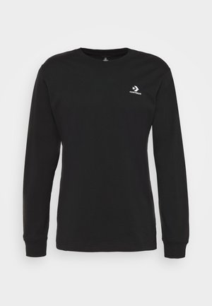 MENS STAR CHEVRON LEFT CHEST LONG SLEEVE  - Pitkähihainen paita - black