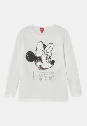 DISNEY MINNIE MOUSE - Longsleeve - snow white