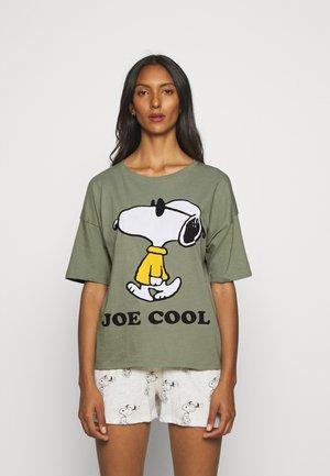 SNOOPY  - Pyjamas - khaki