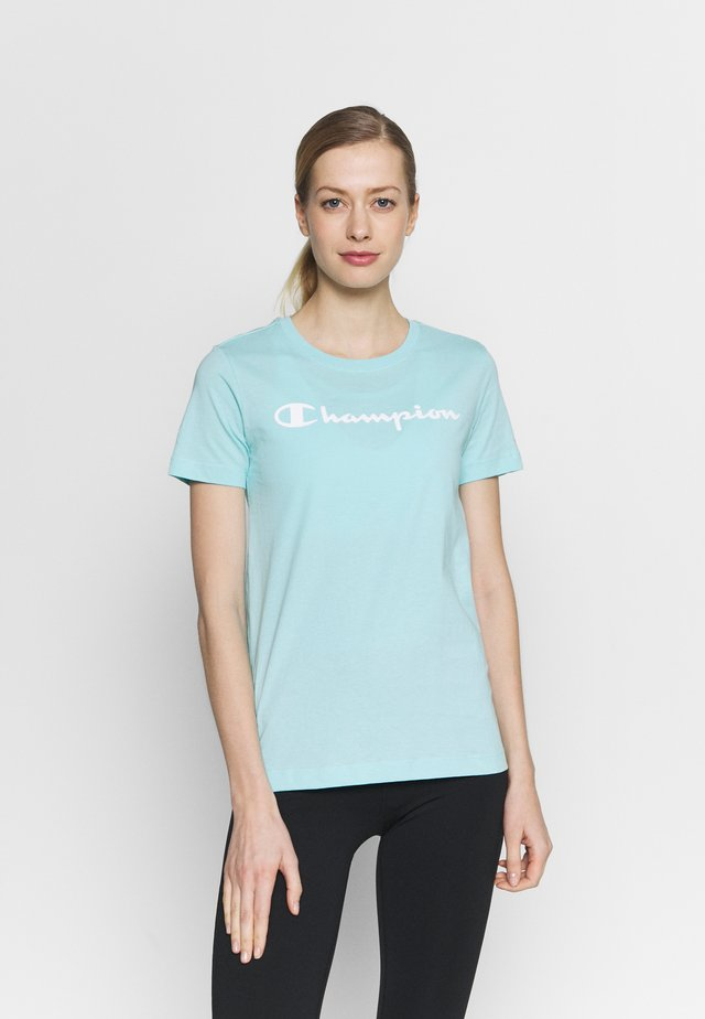 CREWNECK - Triko spotiskem - turquoise