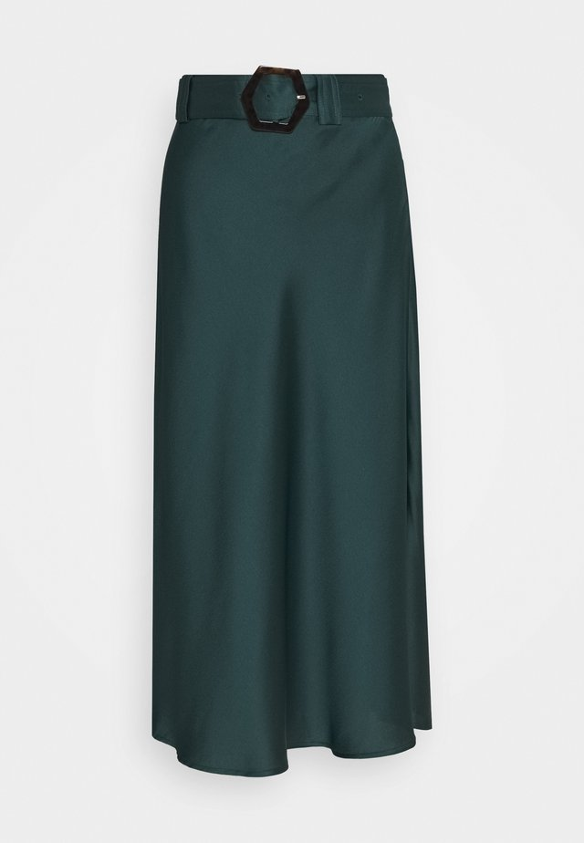 NOELLA SKIRT - Gonna lunga - forest