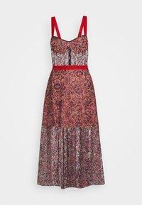 Allen Schwartz - EDEN BUSTIER DRESS IN PRINTED - Vestito elegante - red - 10