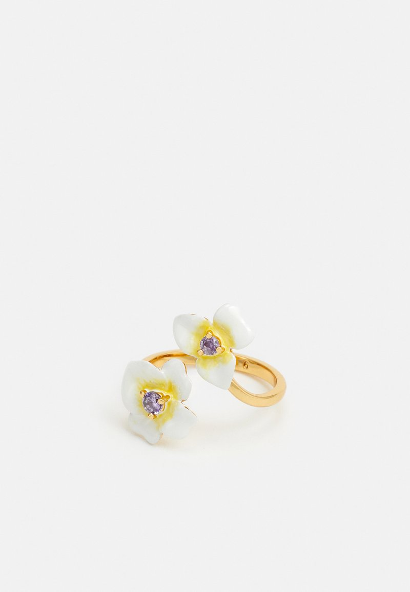 kate spade new york - PRECIOUS PANSY RING - Ring - off white