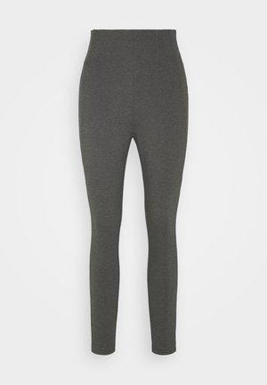 VIVALAS NEW - Leggings - Trousers - dark grey melange