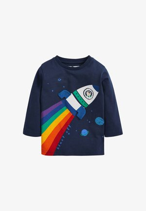 RAINBOW ROCKET - Print T-shirt - blue