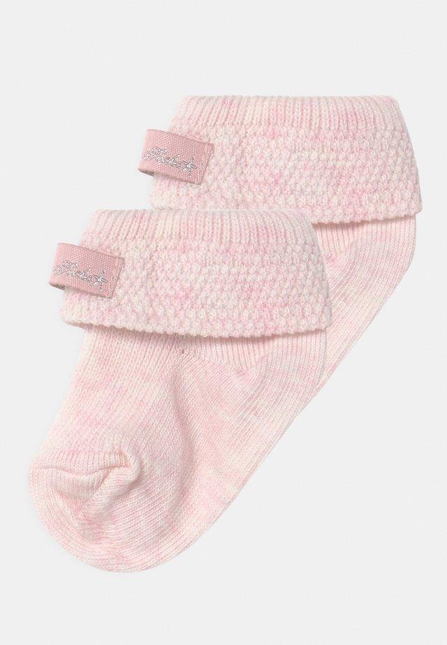 2 PACK - Ponožky - pink