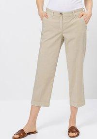 zero - Trousers - raw cotton - 0