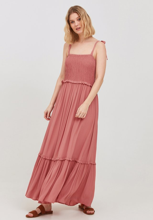 Vestito lungo - canyon rose