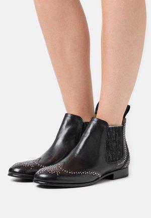 SALLY  - Kotníkové boty - black glitter