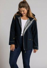 Ulla Popken - Soft shell jacket - marine - 1