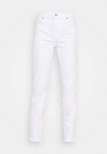 724 HIGH RISE STRAIGHT - Straight leg jeans - western white