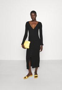 M Missoni - LONG DRESS - Jumper dress - black beauty - 1