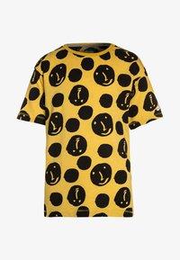 NOP - TEE YREKA - Print T-shirt - warm yellow - 0