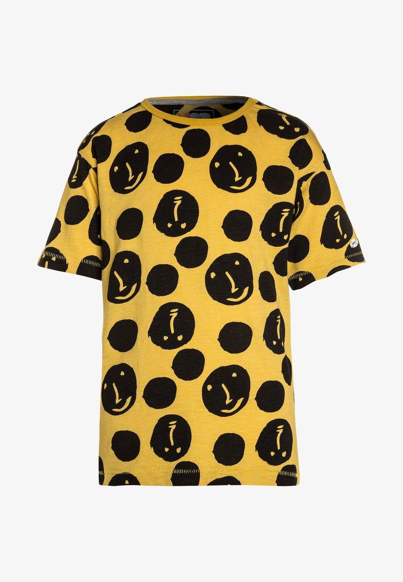 NOP - TEE YREKA - Print T-shirt - warm yellow