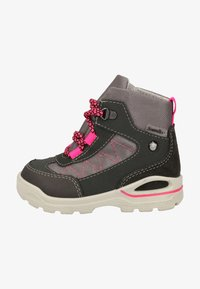 Pepino - Lace-up ankle boots - grigio/graphit/pink 452 - 0