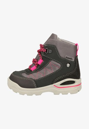 Lace-up ankle boots - grigio/graphit/pink 452