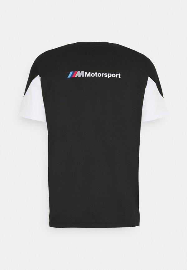 Puma BMW TEE - T-shirt z nadrukiem - black/czarny Odzież Męska CGHU
