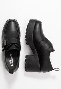 Koi Footwear - VEGAN - Platform heels - black - 3