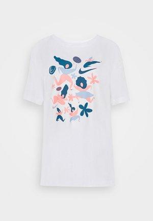 DAY TEE - T-shirts print - white