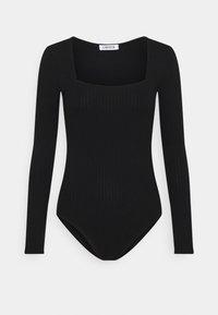 EDITED - ROSA BODY - Long sleeved top - schwarz - 0