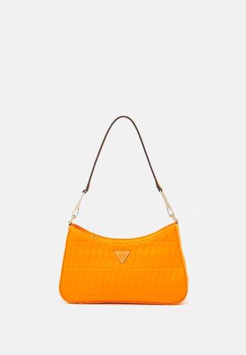 LAYLA TOP ZIP SHOULDER - Handbag - orange