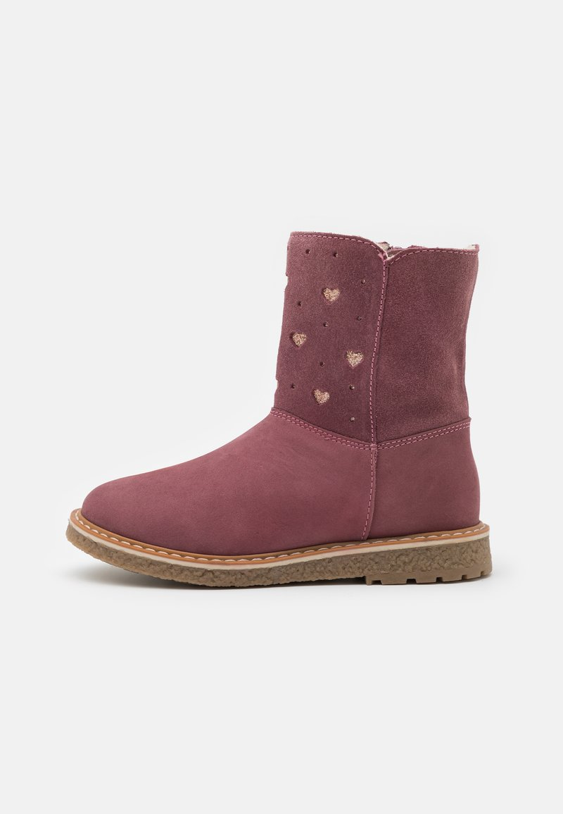 Friboo - LEATHER - Boots - pink