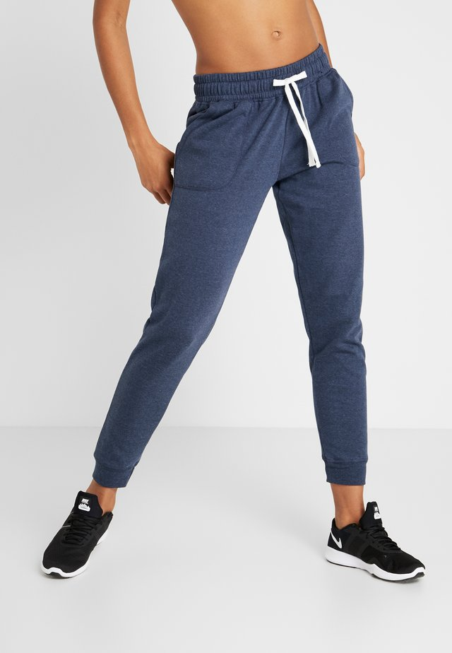 GYM TRACKPANT - Pantalon de survêtement - midnight marle