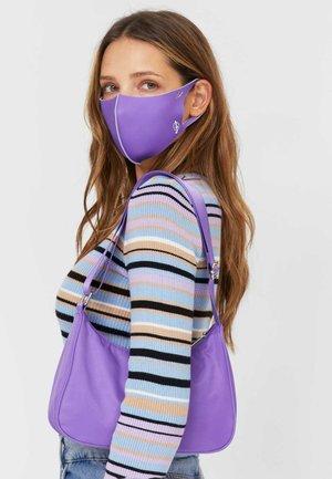 Handbag - mottled purple