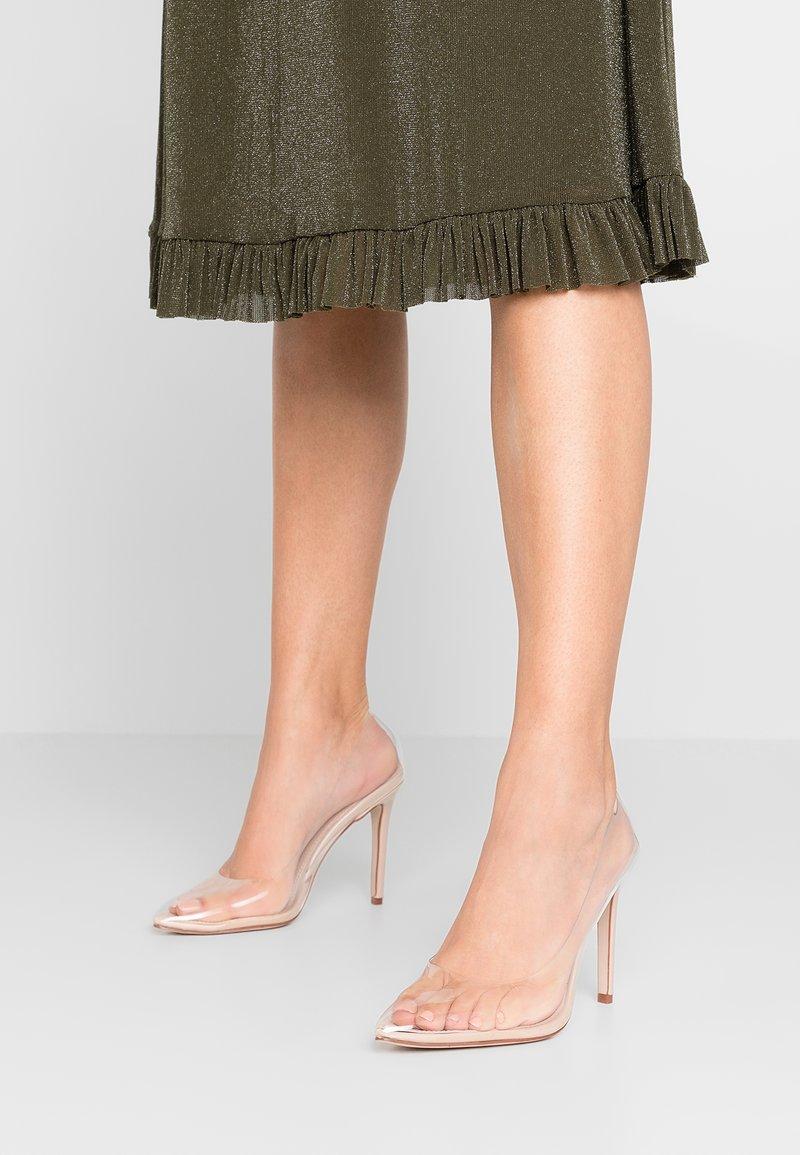 BEBO - ELDA - High heels - clear/nude