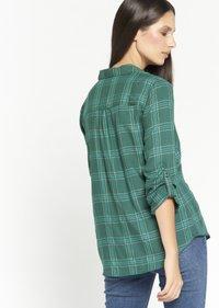 LolaLiza - CHECK - Button-down blouse - green - 2