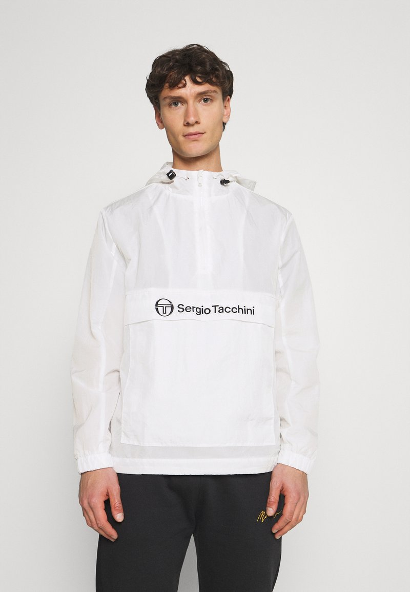 Sergio Tacchini - ANTO ANORAK - Lehká bunda - blanc de blanc