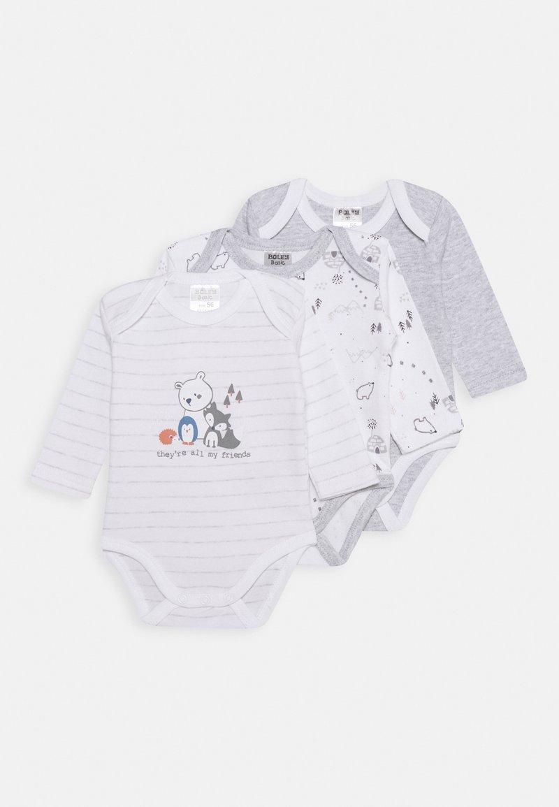 Jacky Baby - LANGARM 3 PACK - Body - grey