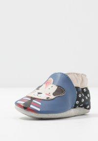 Robeez - PUNKY DOOGY - Chaussons pour bébé - bleu/noir - 2
