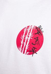 Brave Soul - TOKYO - T-shirt imprimé - white - 5