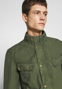 Barbour International - COLOURED DUKE CASUAL - Summer jacket - racing green - 3