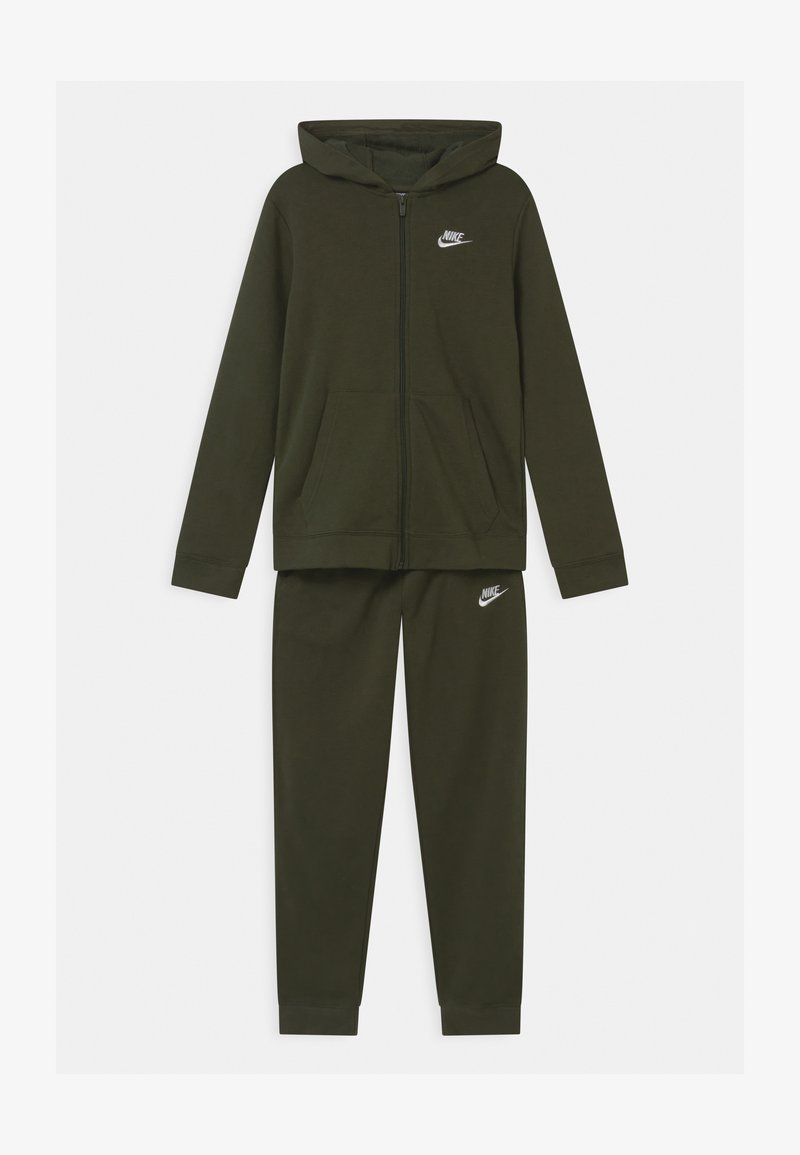 Nike Sportswear - CORE SET  - Tracksuit - khaki